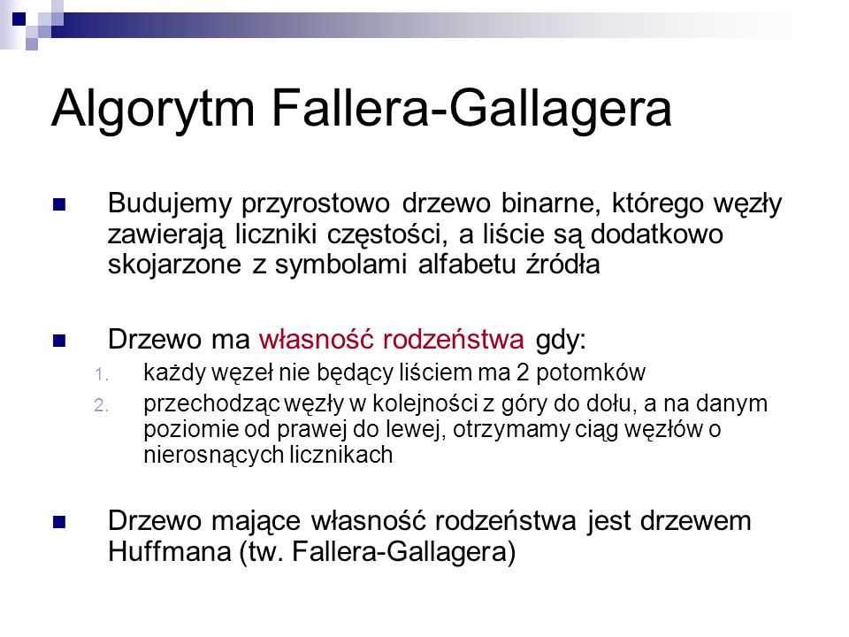 Algorytm Fallera-Gallagera