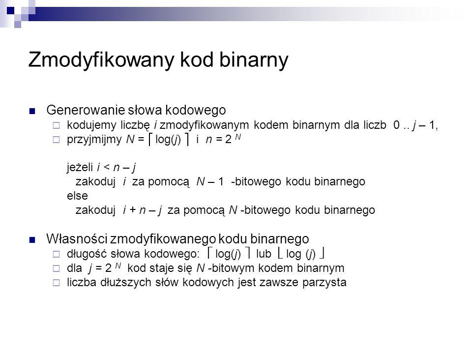 Zmodyfikowany kod binarny