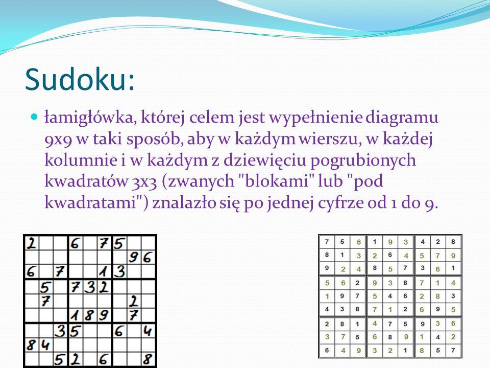 Sudoku: