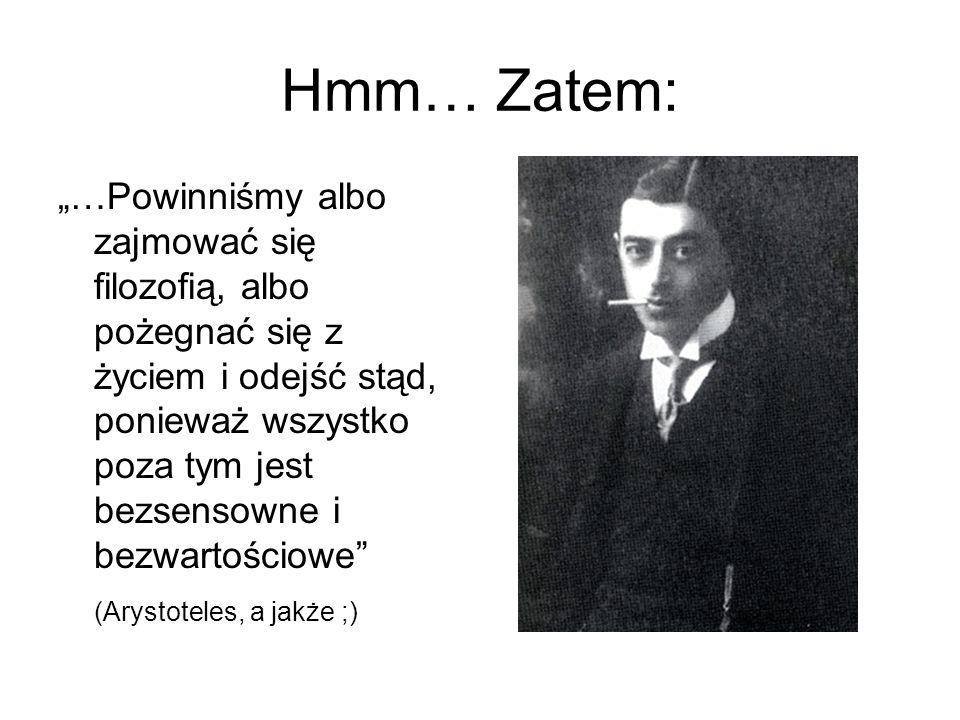 Hmm… Zatem: