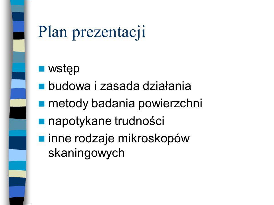 Plan prezentacji wstęp budowa i zasada działania