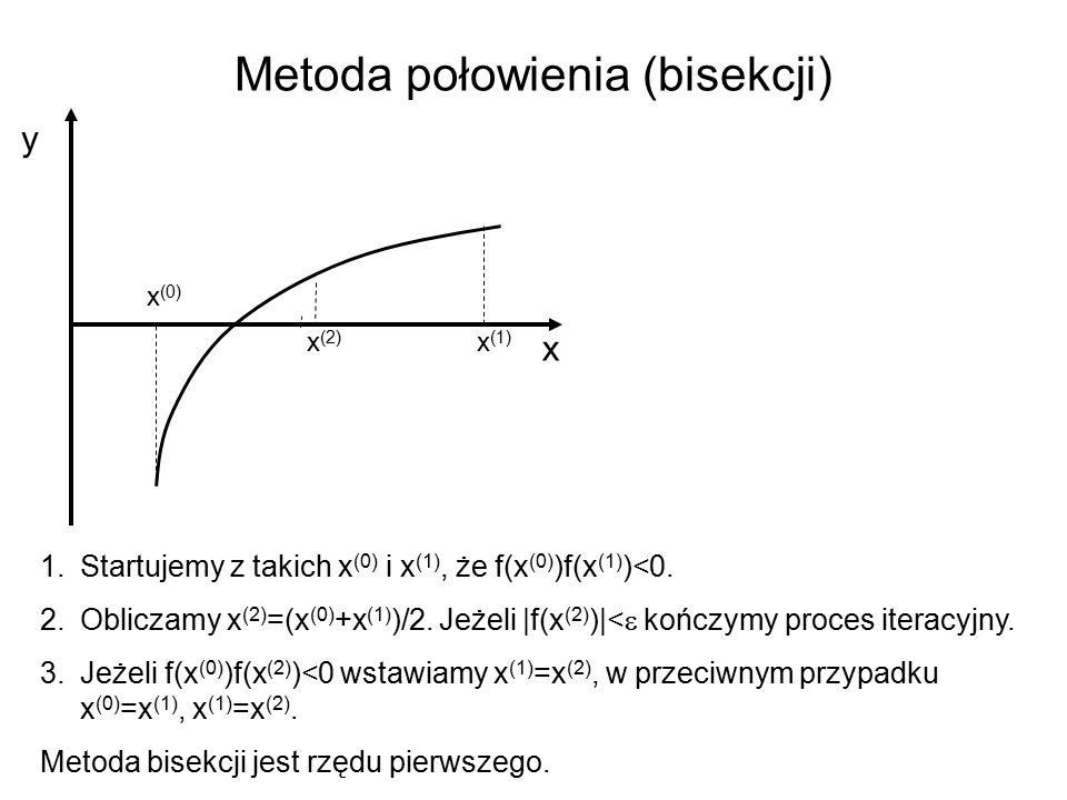 Metoda połowienia (bisekcji)