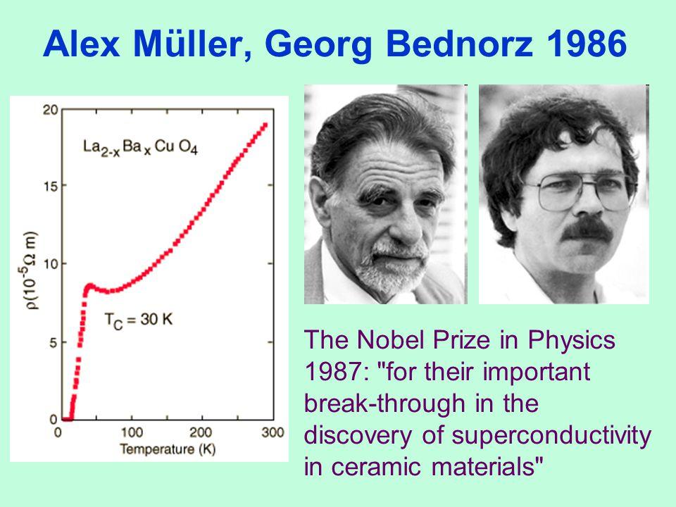 Alex Müller, Georg Bednorz 1986