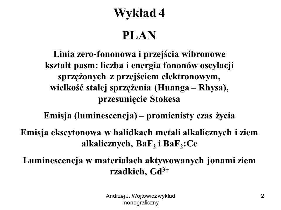 Wykład 4 PLAN.