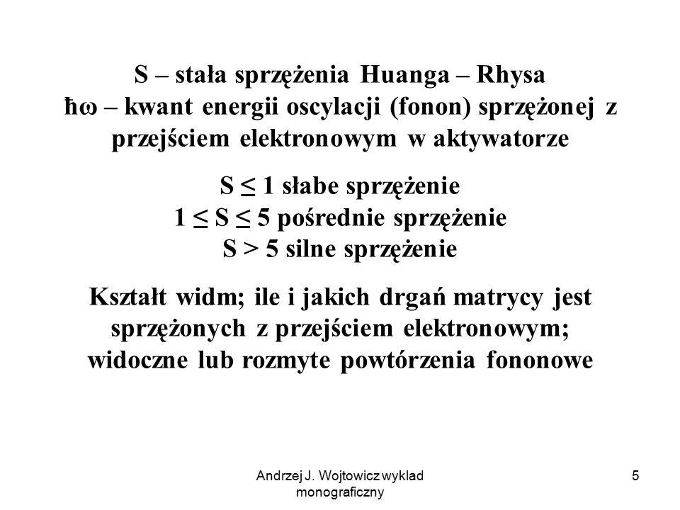 Andrzej J. Wojtowicz wyklad monograficzny