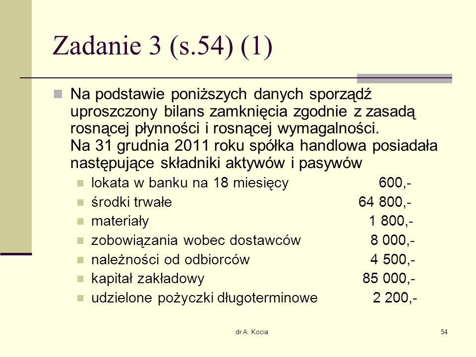Zadanie 3 (s.54) (1)