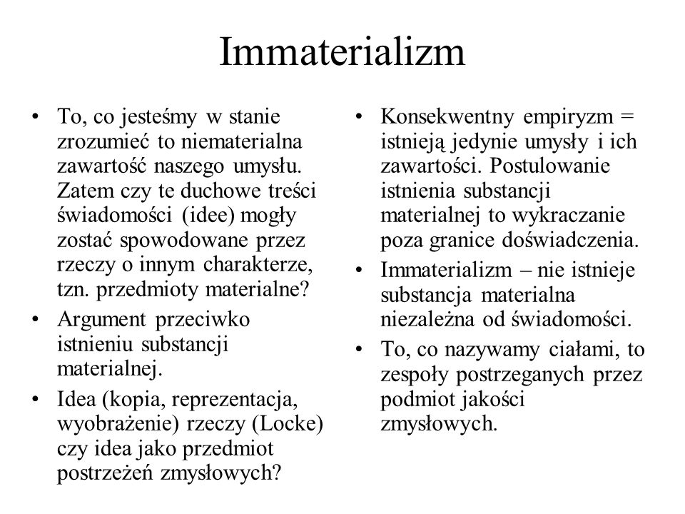 Immaterializm