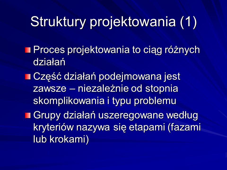 Struktury projektowania (1)