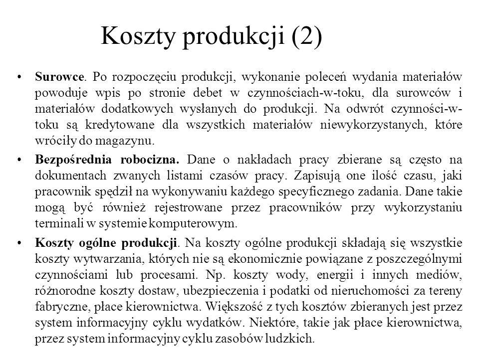 Koszty produkcji (2)