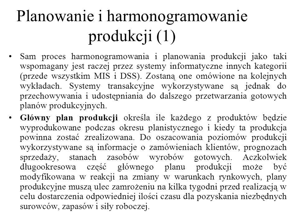 Planowanie i harmonogramowanie produkcji (1)