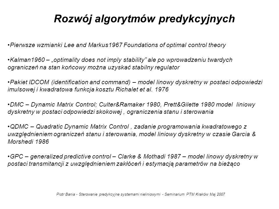Rozwój algorytmów predykcyjnych