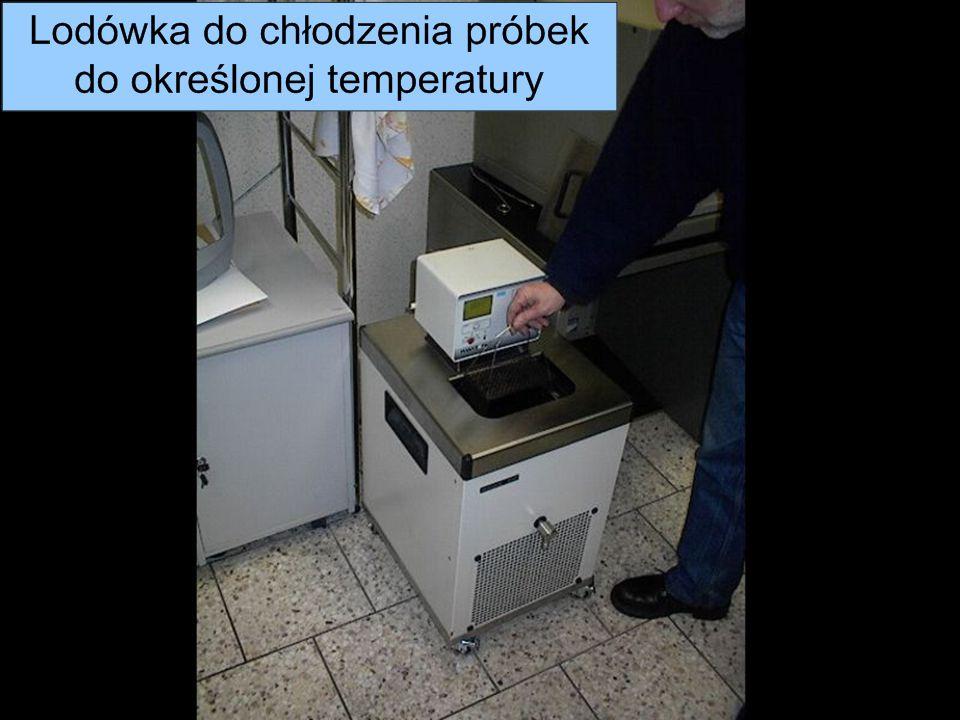 Metrotest Sp. z o. o. Próby przeprowadzane dla niskich temperatur odbywają się poprzez schłodzenie próbki do odpowiedniej temperatury.