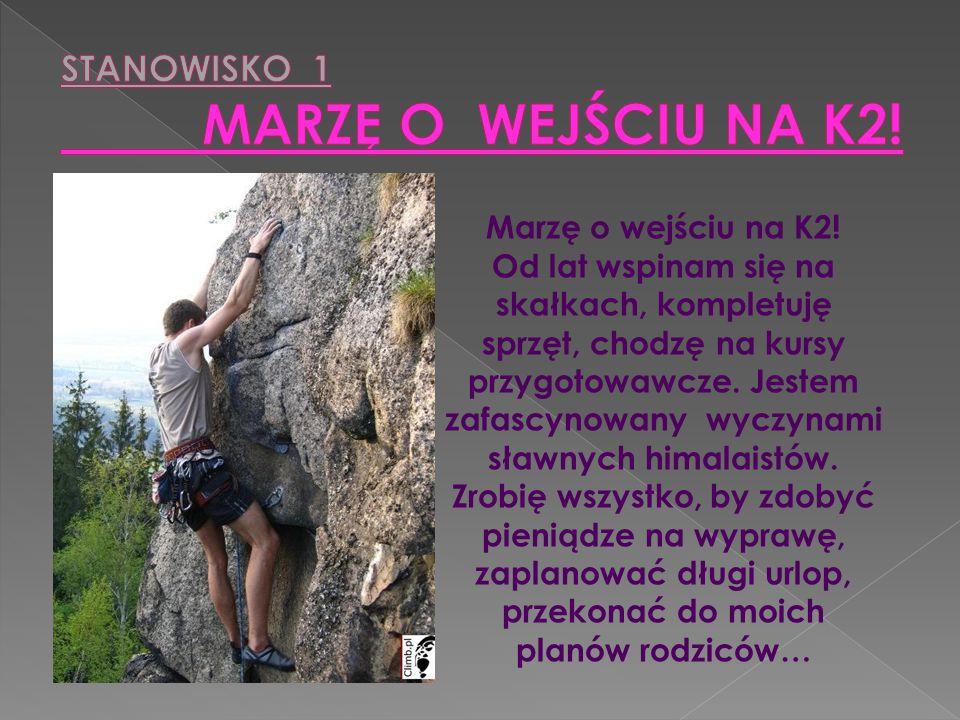 STANOWISKO 1 MARZĘ O WEJŚCIU NA K2!