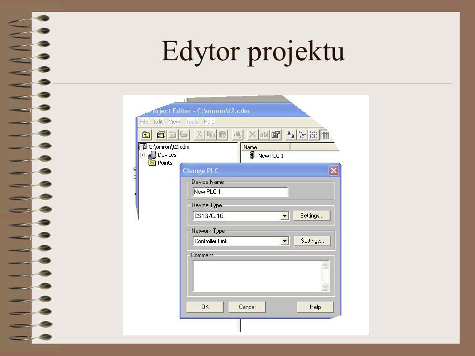 Edytor projektu admin@plcs.pl