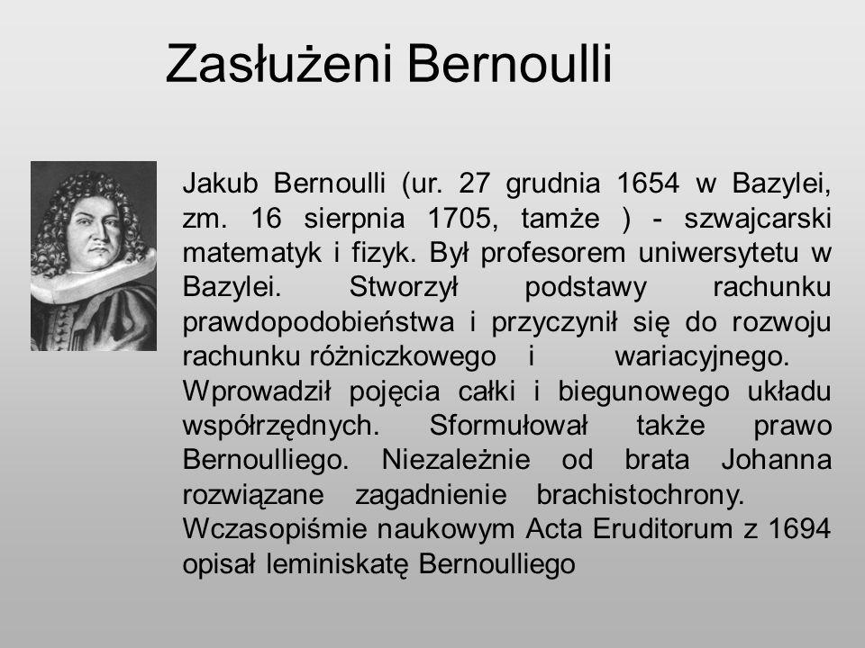 Zasłużeni Bernoulli