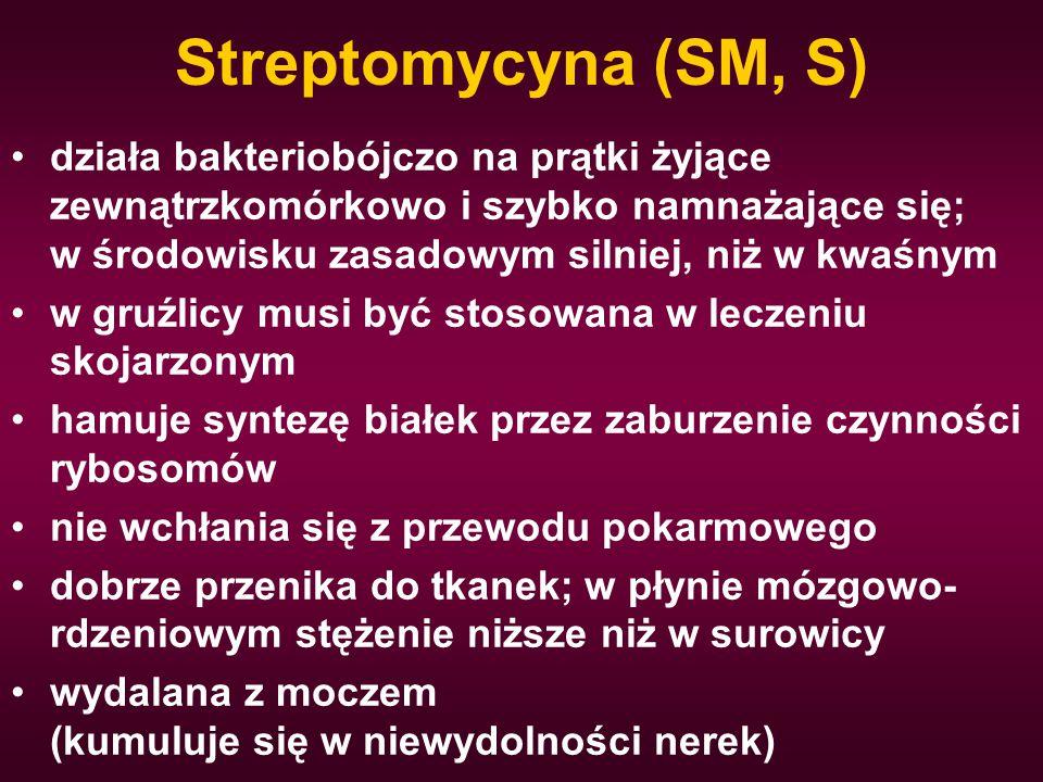 Streptomycyna (SM, S)
