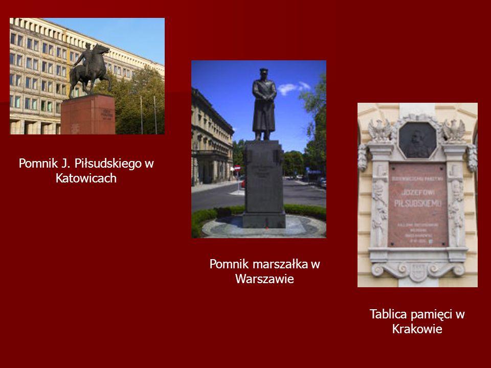 Pomnik J. Piłsudskiego w Katowicach