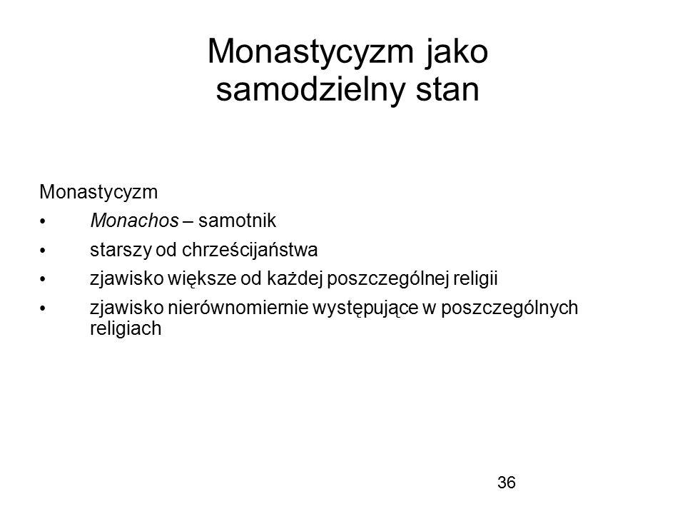 Monastycyzm jako samodzielny stan