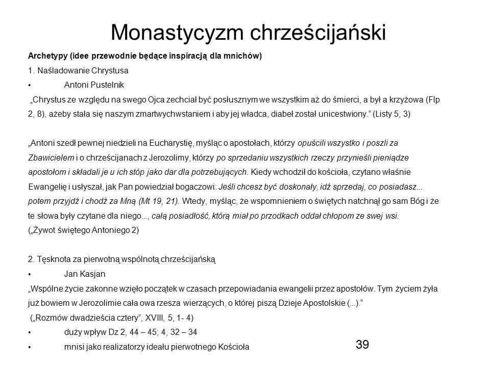 Monastycyzm chrześcijański