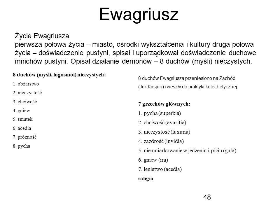 Ewagriusz Życie Ewagriusza