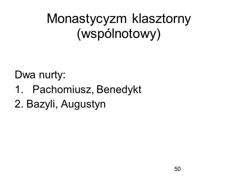 Monastycyzm klasztorny (wspólnotowy)