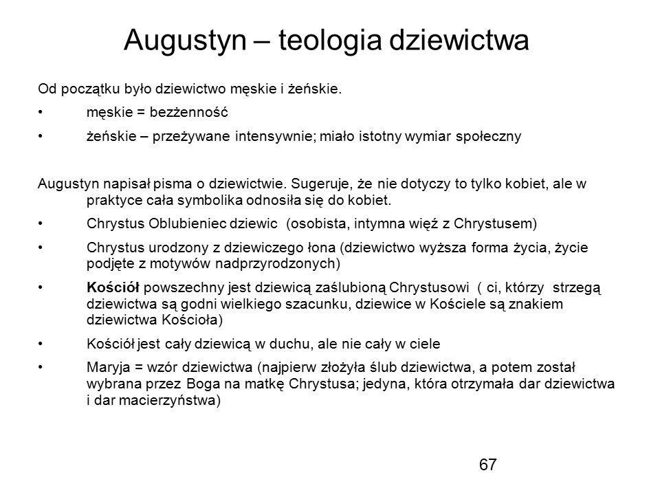 Augustyn – teologia dziewictwa
