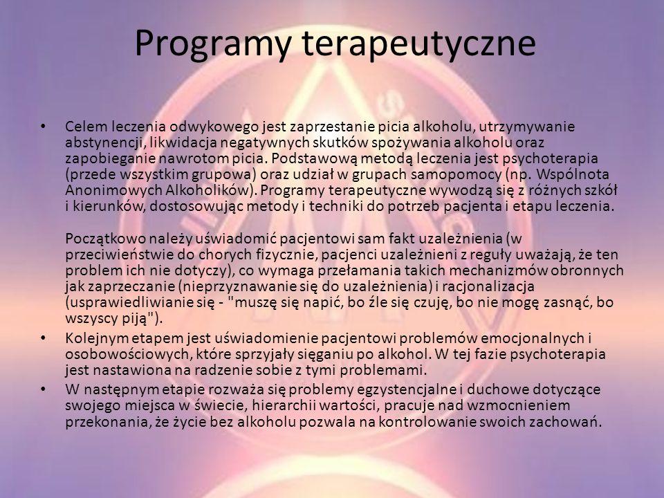 Programy terapeutyczne