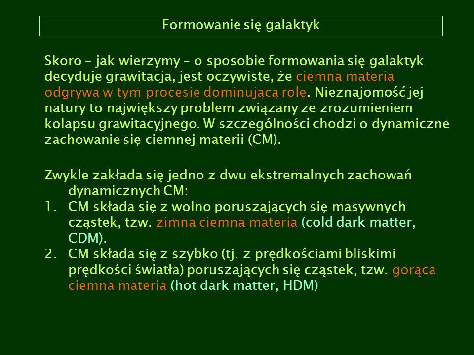Formowanie się galaktyk