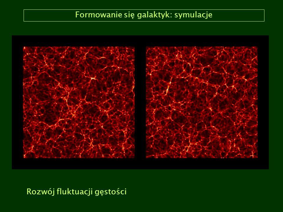 Formowanie się galaktyk: symulacje