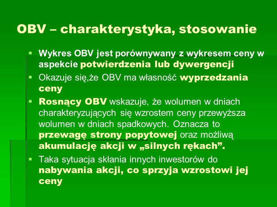 OBV – charakterystyka, stosowanie