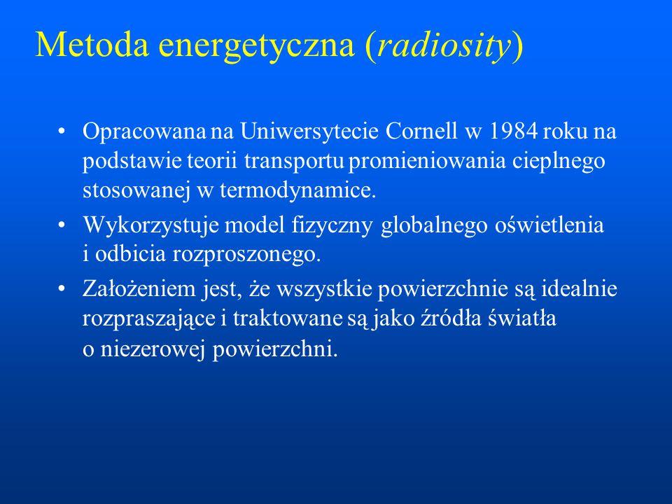 Metoda energetyczna (radiosity)