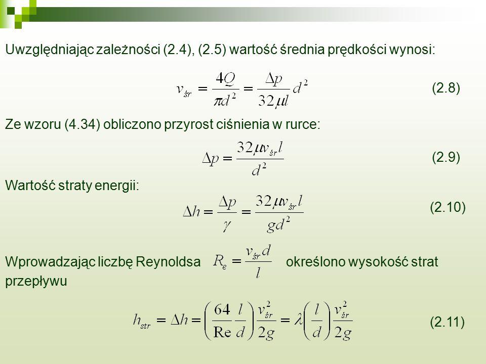 Uwzględniając zależności (2. 4), (2