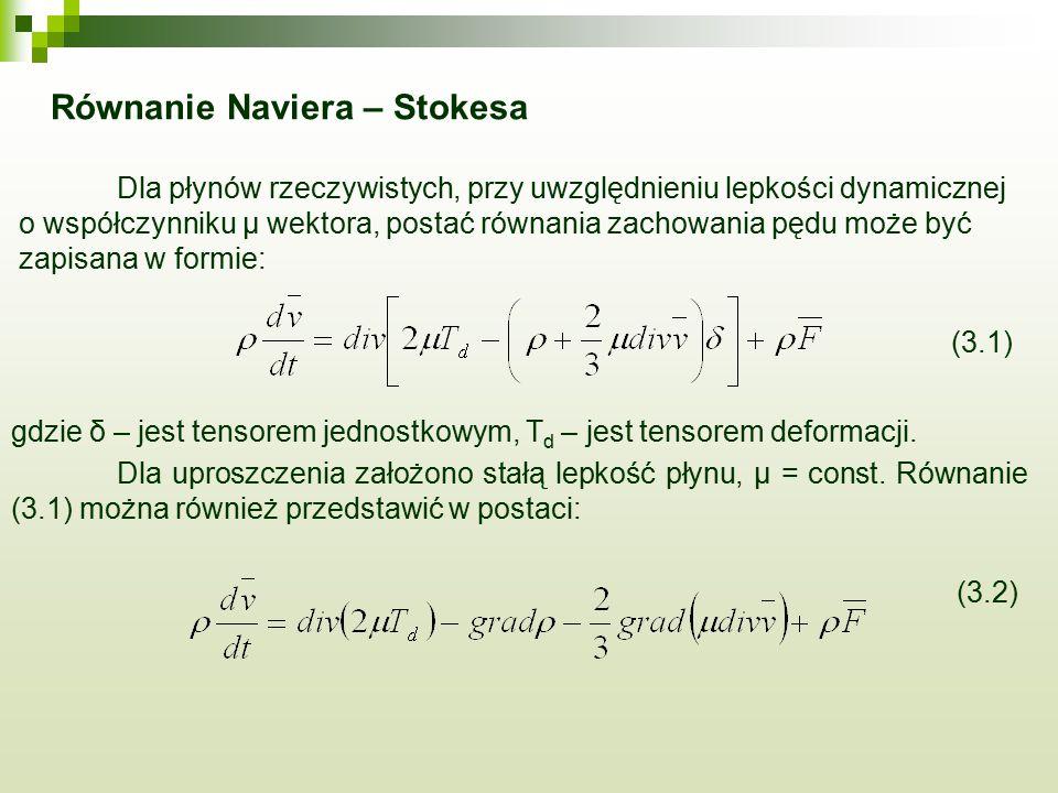 Równanie Naviera – Stokesa