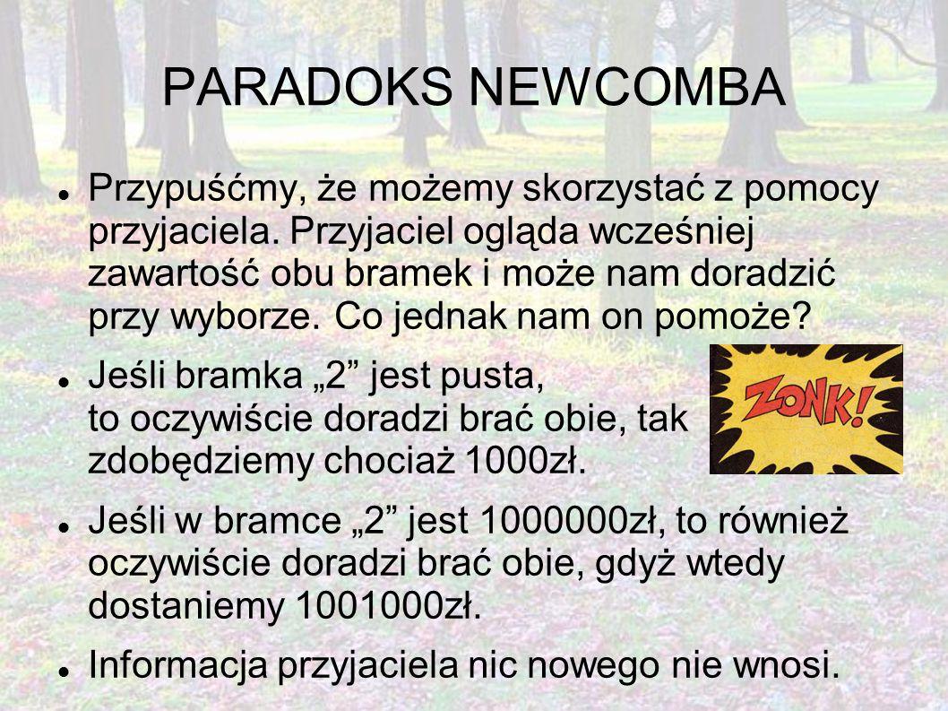 PARADOKS NEWCOMBA