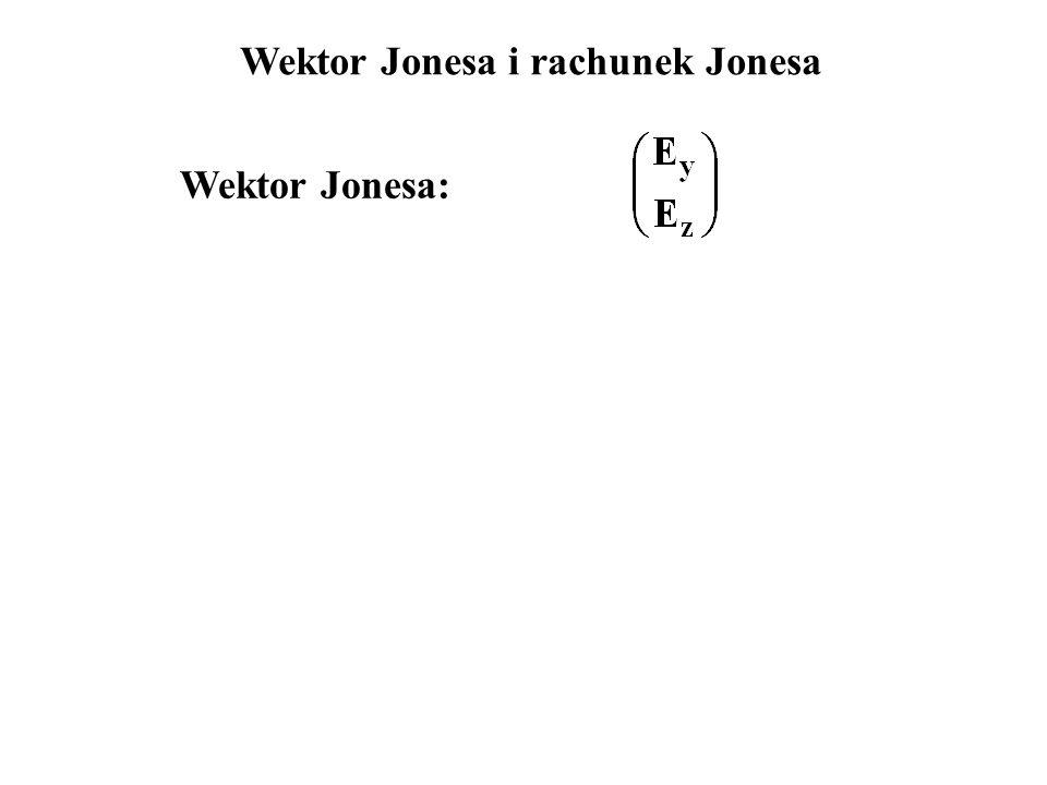 Wektor Jonesa i rachunek Jonesa