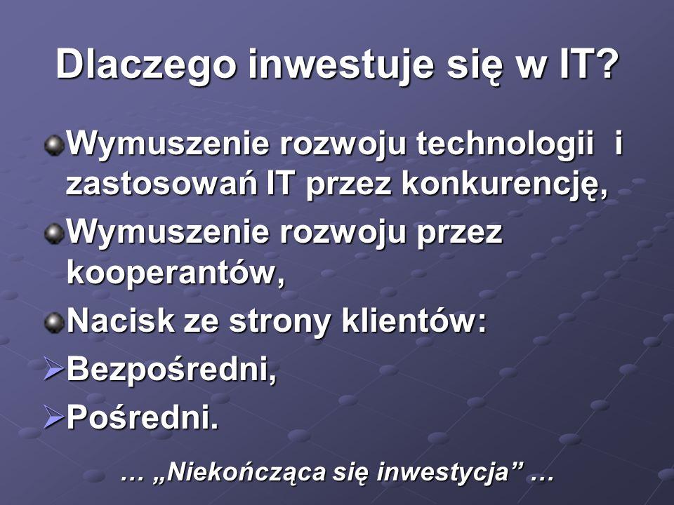 Dlaczego inwestuje się w IT
