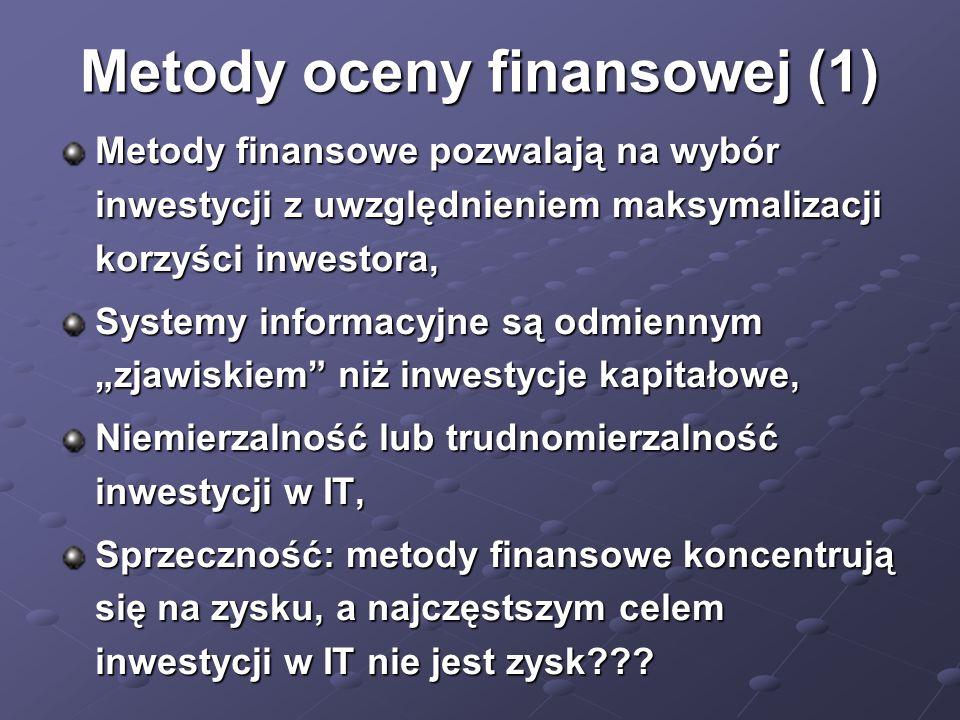 Metody oceny finansowej (1)