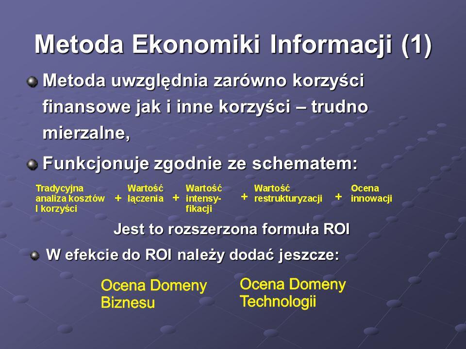 Metoda Ekonomiki Informacji (1)