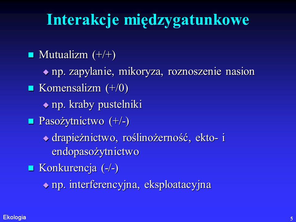 Interakcje międzygatunkowe