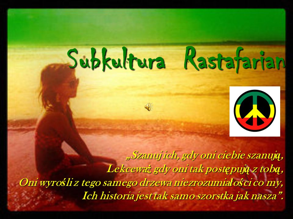Subkultura Rastafarian