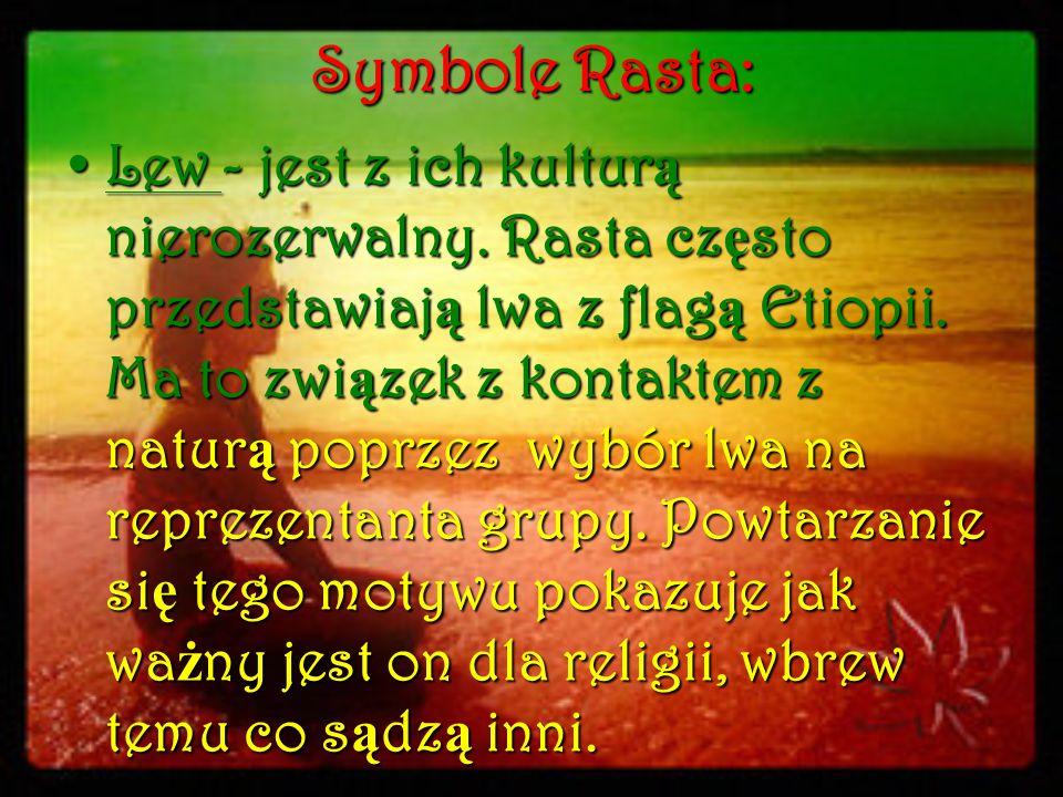 Symbole Rasta: