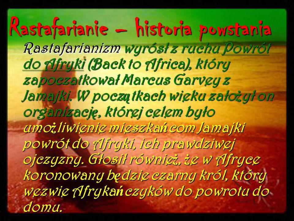 Rastafarianie – historia powstania