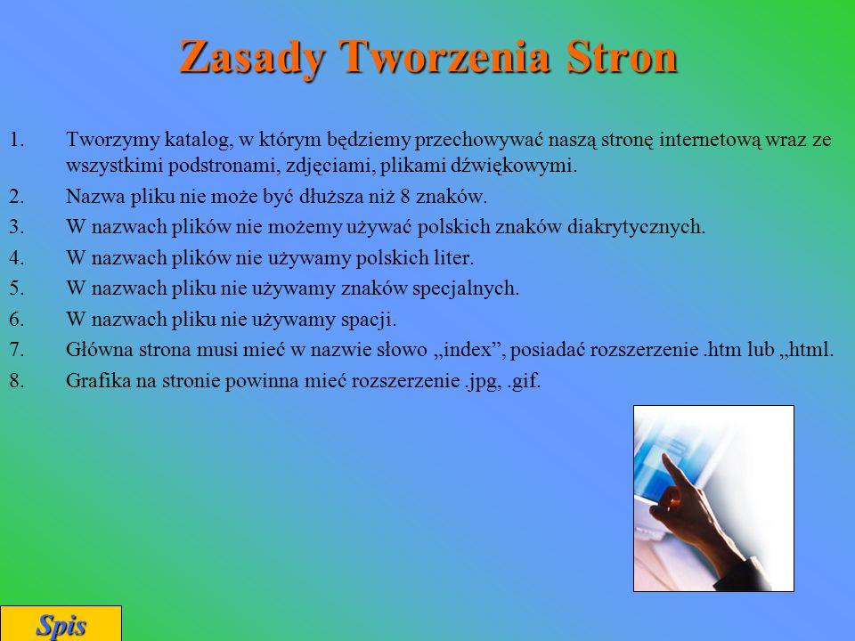 Zasady Tworzenia Stron