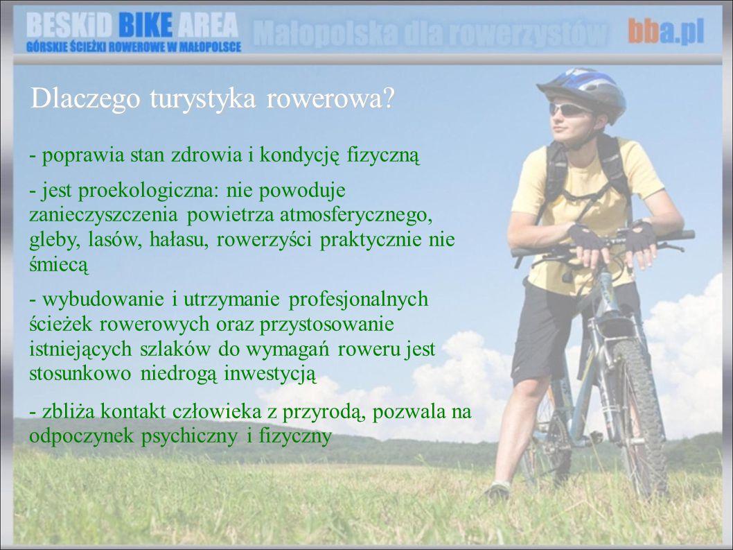 Dlaczego turystyka rowerowa