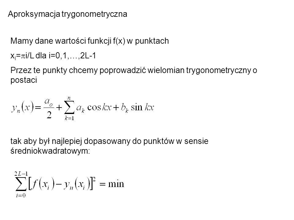 Aproksymacja trygonometryczna