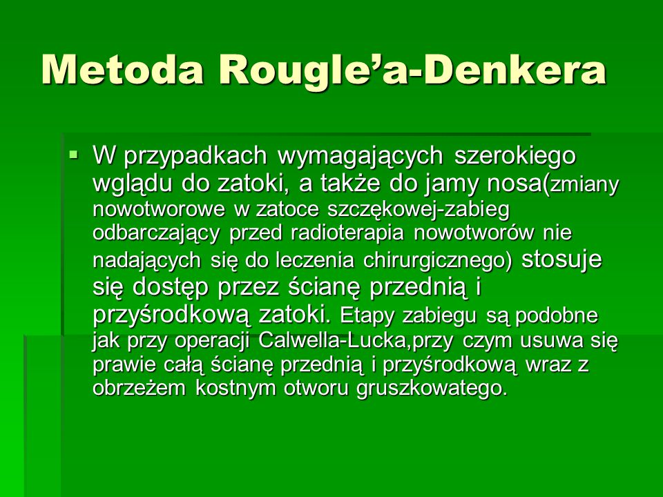 Metoda Rougle'a-Denkera