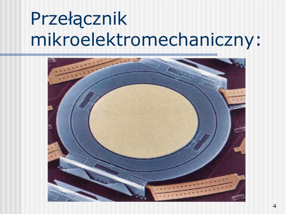 Przełącznik mikroelektromechaniczny:
