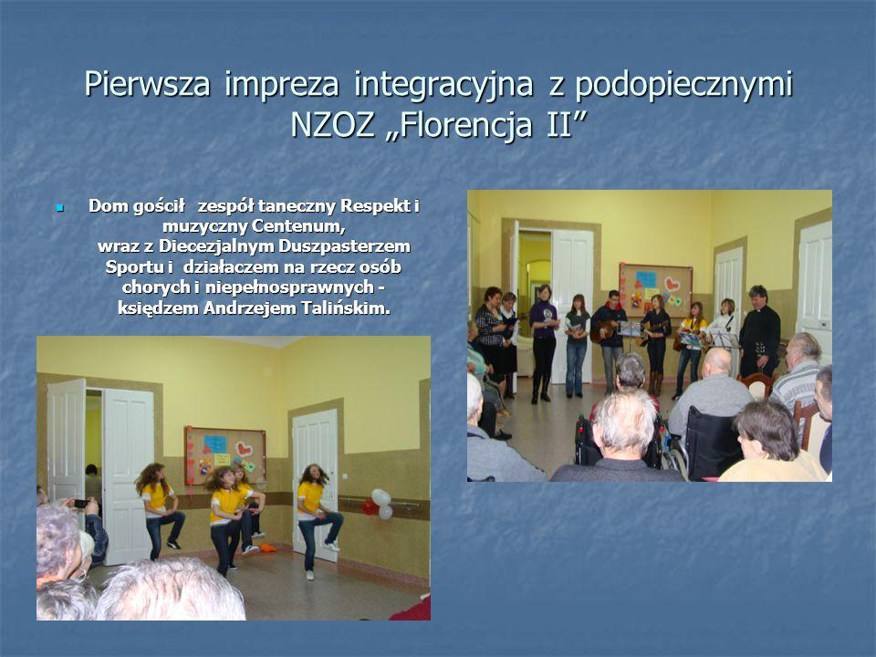 """Pierwsza impreza integracyjna z podopiecznymi NZOZ """"Florencja II"""