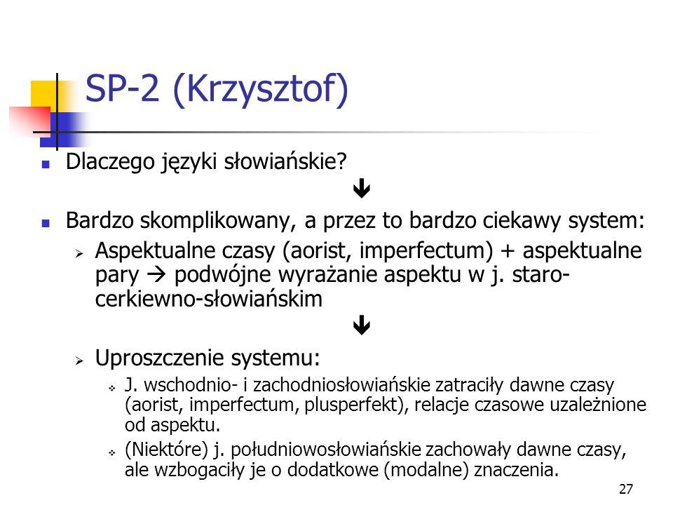 SP-2 (Krzysztof) Dlaczego języki słowiańskie 