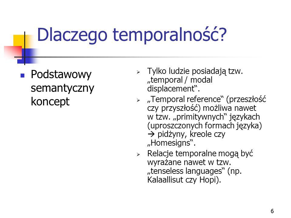 Dlaczego temporalność